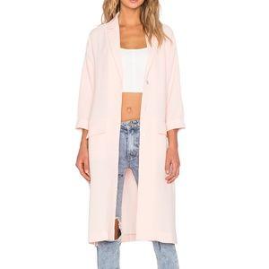 MINKPINK Politely Pink Duster Jacket S NWT